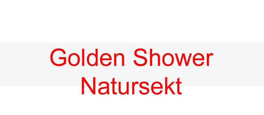 Natursekt-Golden Shower