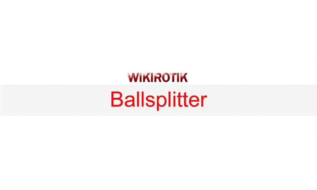 Ballsplitter